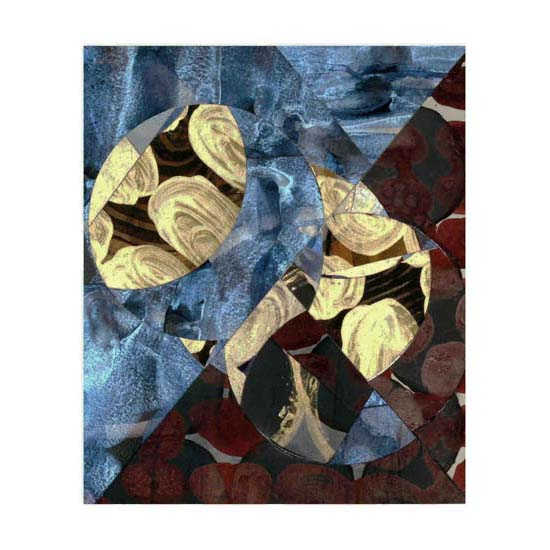 Silver and Gold (1), 24.5 x 29cm