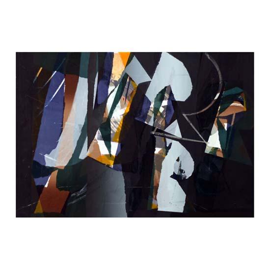 Sparkle, Monoprint, 58 x 39cm