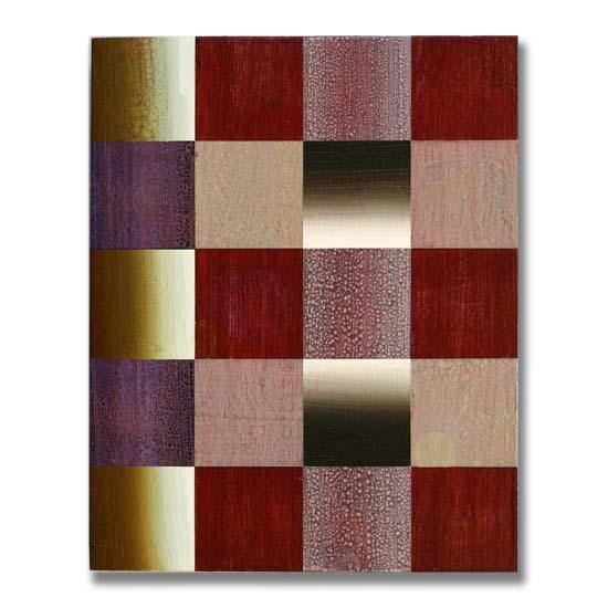 Squares (4), Acrylic on Wood, 24 x 30cm