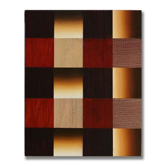 Squares (7), Acrylic on Wood, 24 x 30cm