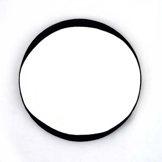 St Blanes, Oil/Acrylic/Canvas/Board, 45cm diameter