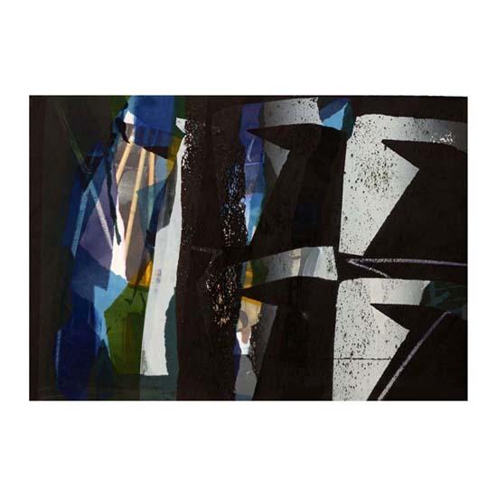 Stave, Monoprint, 58 x 39cm