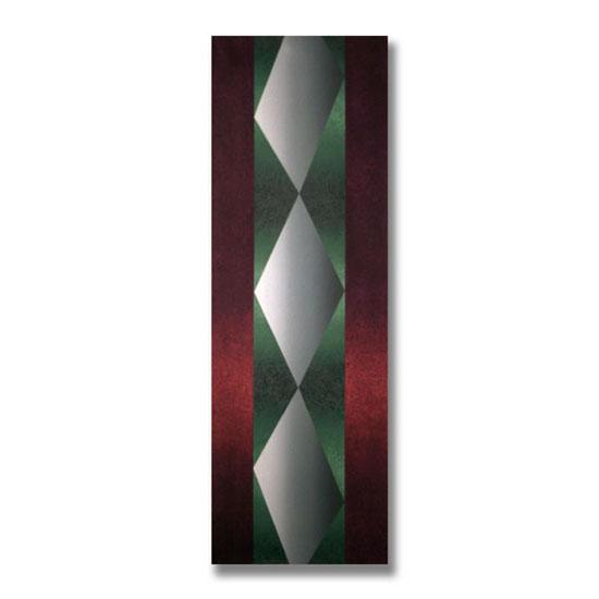 Twist, Acrylic on Canvas, 47 x 140cm