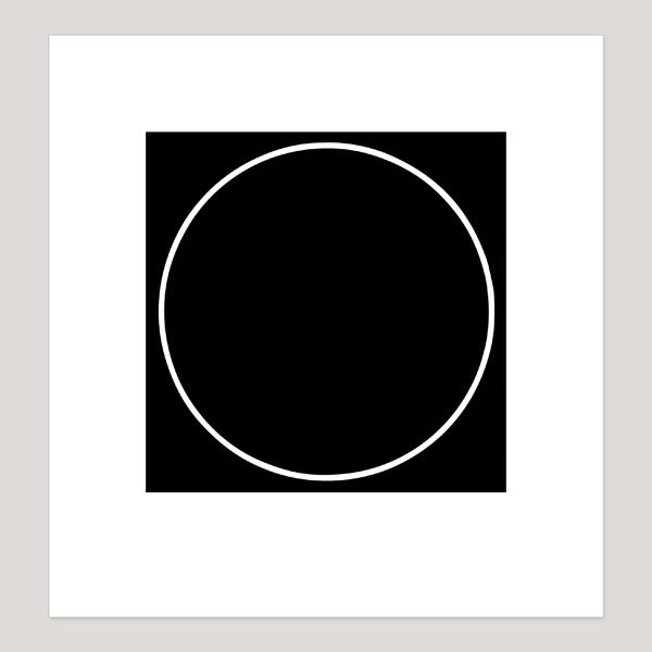 Unknot, Archival Digital Print, 20 x 21 cm