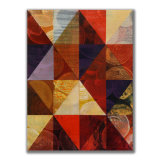 Triangles (4) 3 Acrylic on Wood, 30 x 40cm