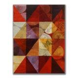 Triangles (4) 2 Acrylic on Wood, 30 x 40cm
