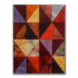 Triangles (4) 4 Acrylic on Wood, 30 x 40cm