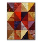 Triangles (4) 5 Acrylic on Wood, 30 x 40cm