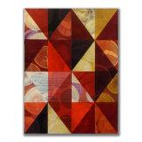 Triangles (4) 6 Acrylic on Wood, 30 x 40cm