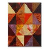 Triangles (4) 7 Acrylic on Wood, 30 x 40cm