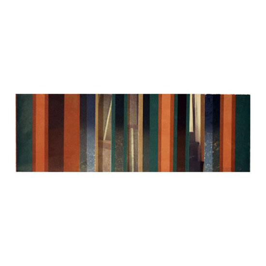 Window, Monoprint/Transfer/Screenprint, 76.5 x 25.5cm