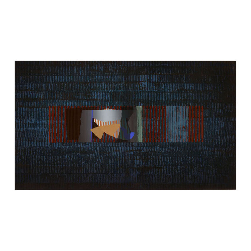 Grill, Screenprint, Image Size 91 x 52.5 cm
