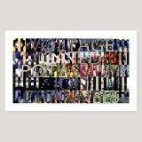 Voltage Gated Potassium Ion Channels, Archival Pigment Print, Image size 91 x 51cm
