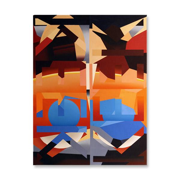 Keek, 92 x 122cm, Acrylic/canvas