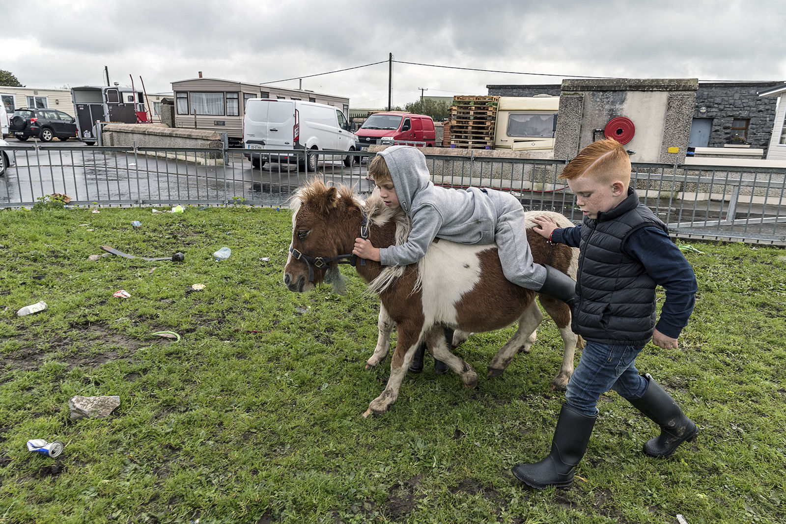 Two Boys and Pony, Galway, Ireland 2019