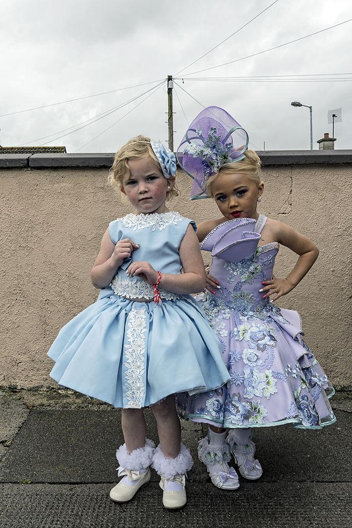 Two Little Bridesmaids, Wexford, Ireland 2019