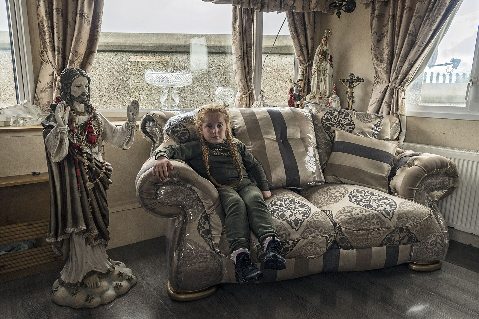 Girl on Couch, Galway, Ireland 2019