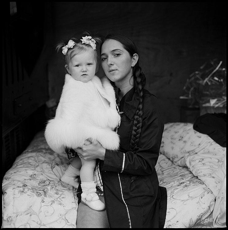 Ellen and Her Daughter, Ballinasloe, Galway, Ireland 2012