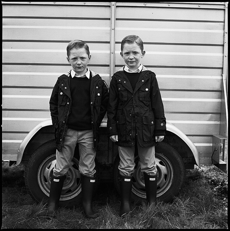Johnny and Michael, Twins, Ballinasloe, Galway, Ireland 2015
