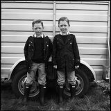 Johnny and Michael, Twins, Ballinasloe, Galway, Ireland 2015