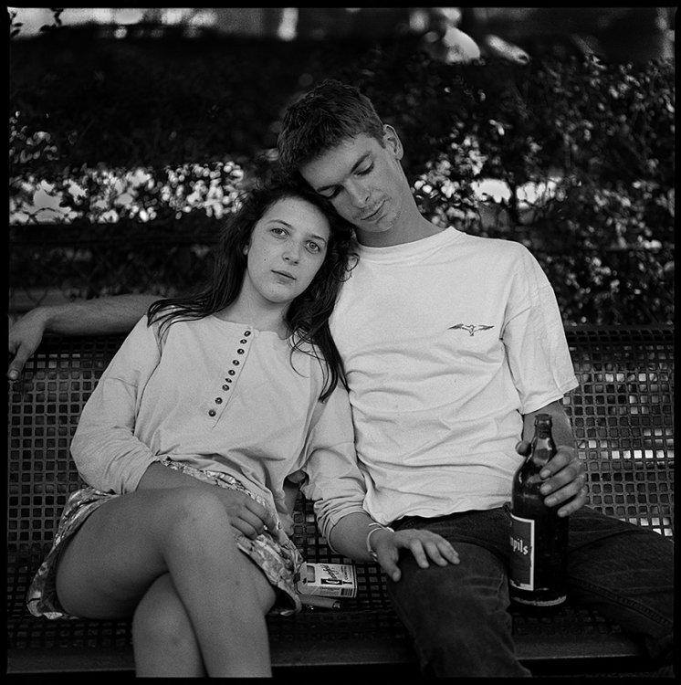 Lovers, Ganges, France 1991