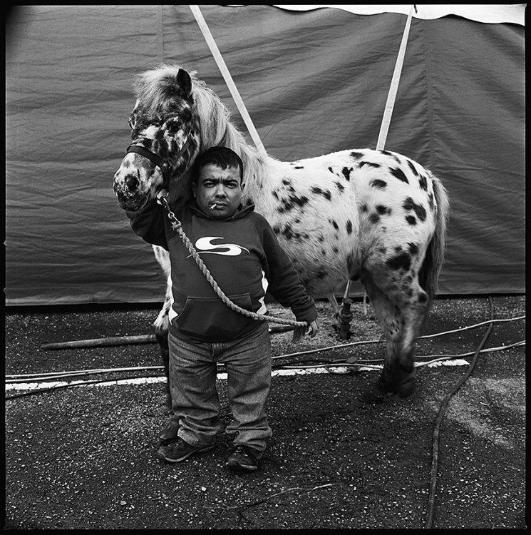 Micheal-John, Circus Performer, Ennis, Clare, Ireland 2007