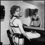 Marie in Ladies Room, Man Ray Nightclub, Cambridge, Massachusetts 1993