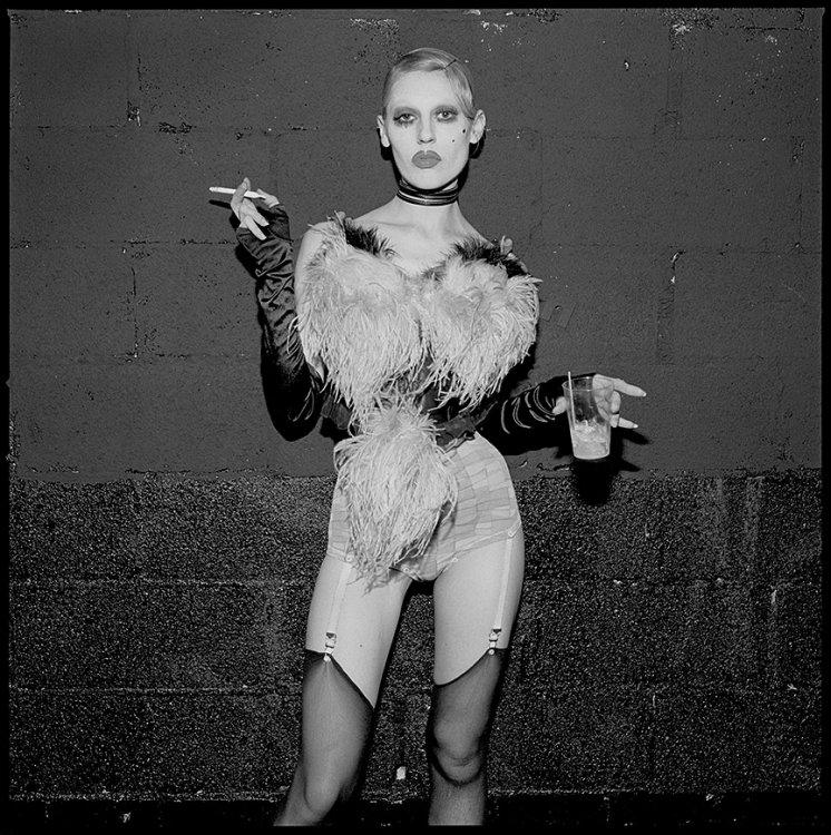 Olga, Limelight Nightclub, NYC 1993