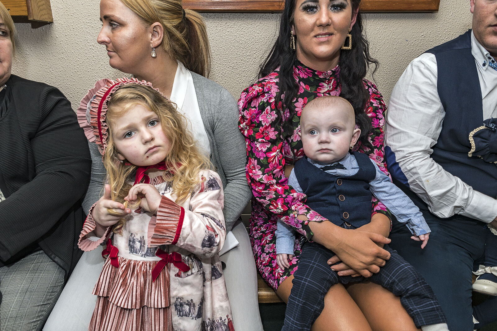Mothers and Children at the church, Limerick, Ireland 2020