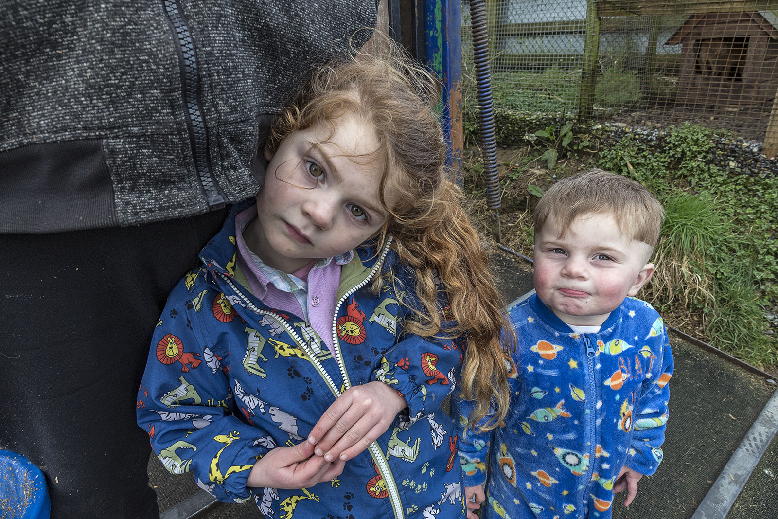 Lisa and brother, Tipperary, Ireland 2020
