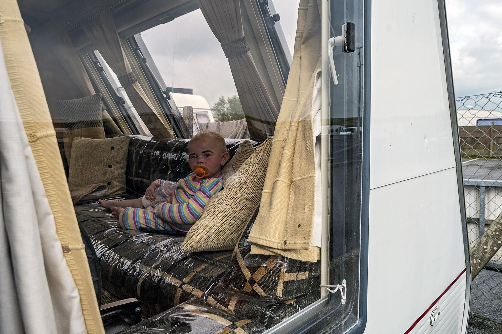 Baby in Caravan, Galway, Ireland 2020
