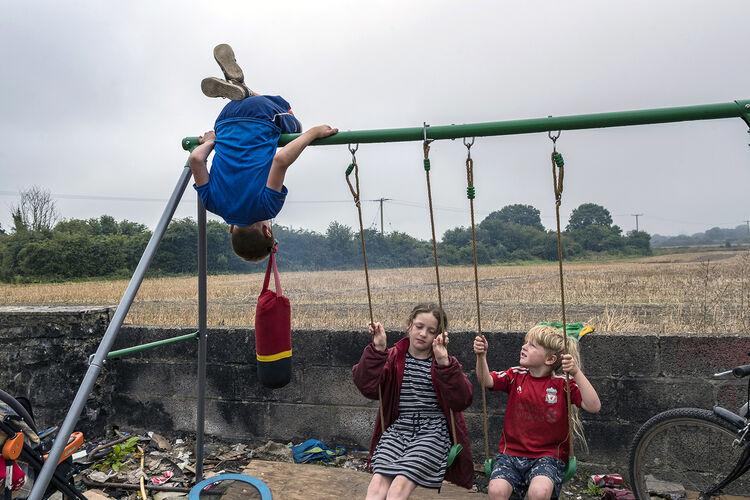 Daniel, Biddy and Joe, Tipperary, Ireland 2020