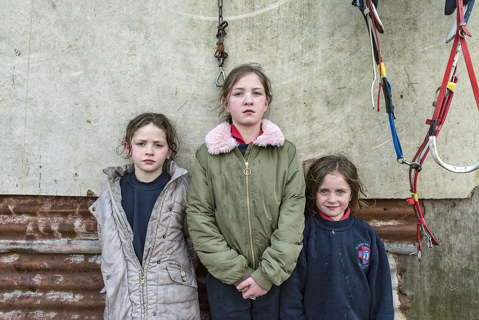 Biddy, Mary and Diane, Reilly Sisters, Tipperary, Ireland 2020