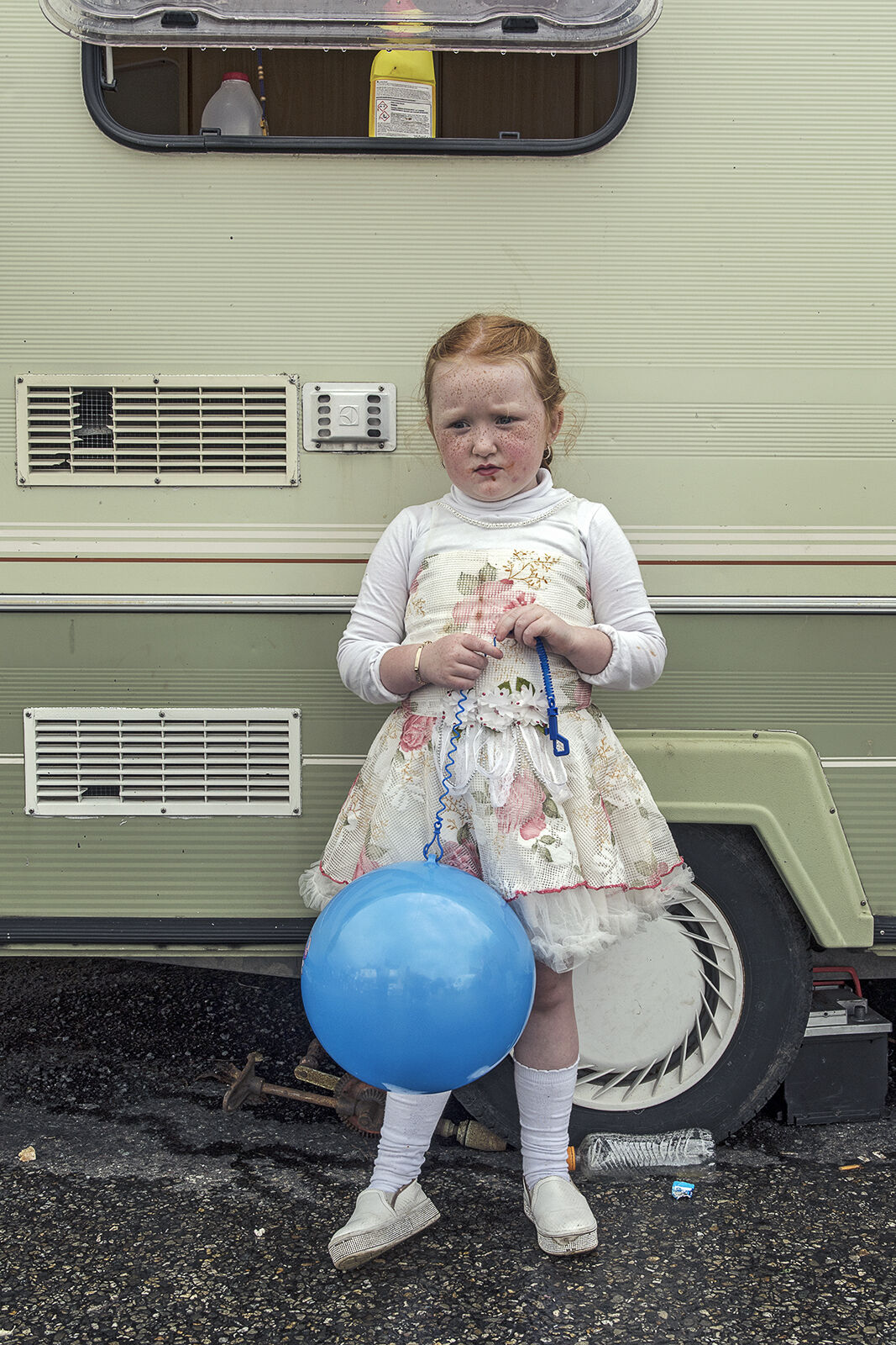 Blue Balloon, Borris Fair, Carlow, Ireland 2019