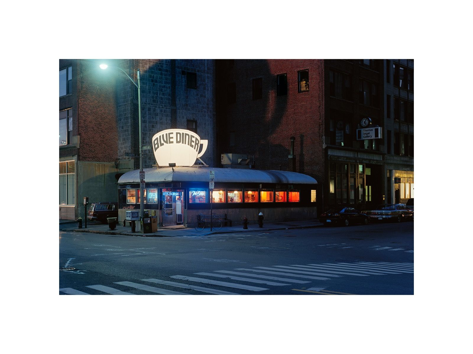 Blue Diner, Boston, Massachusetts 1991