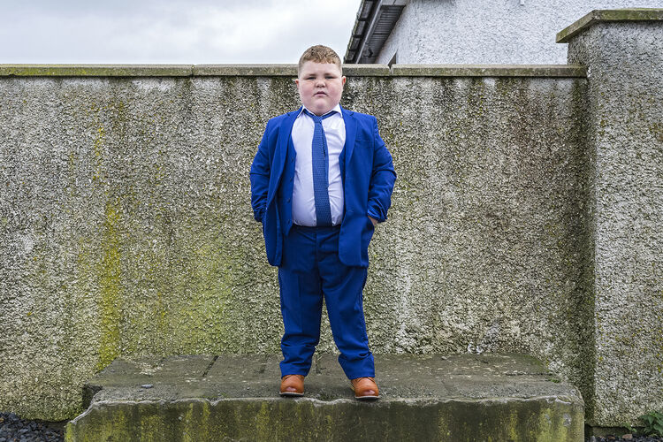 Blue Suit, Tipperary, Ireland 2020