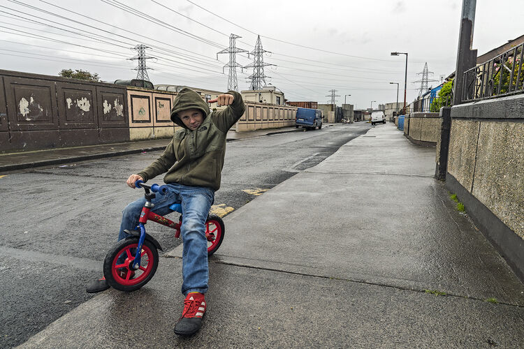 Boy on Small Bike, Dublin, Ireland 2019