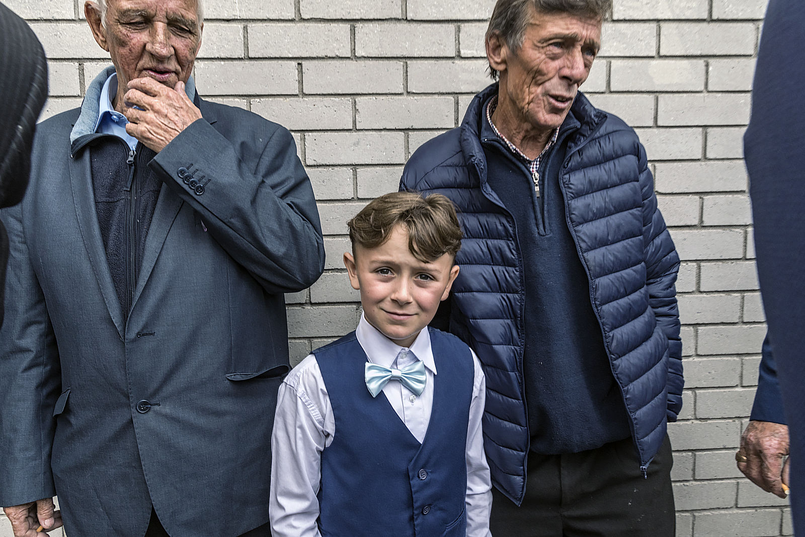 Boy with Turquoise Bow Tie, Wexford, Ireland 2019