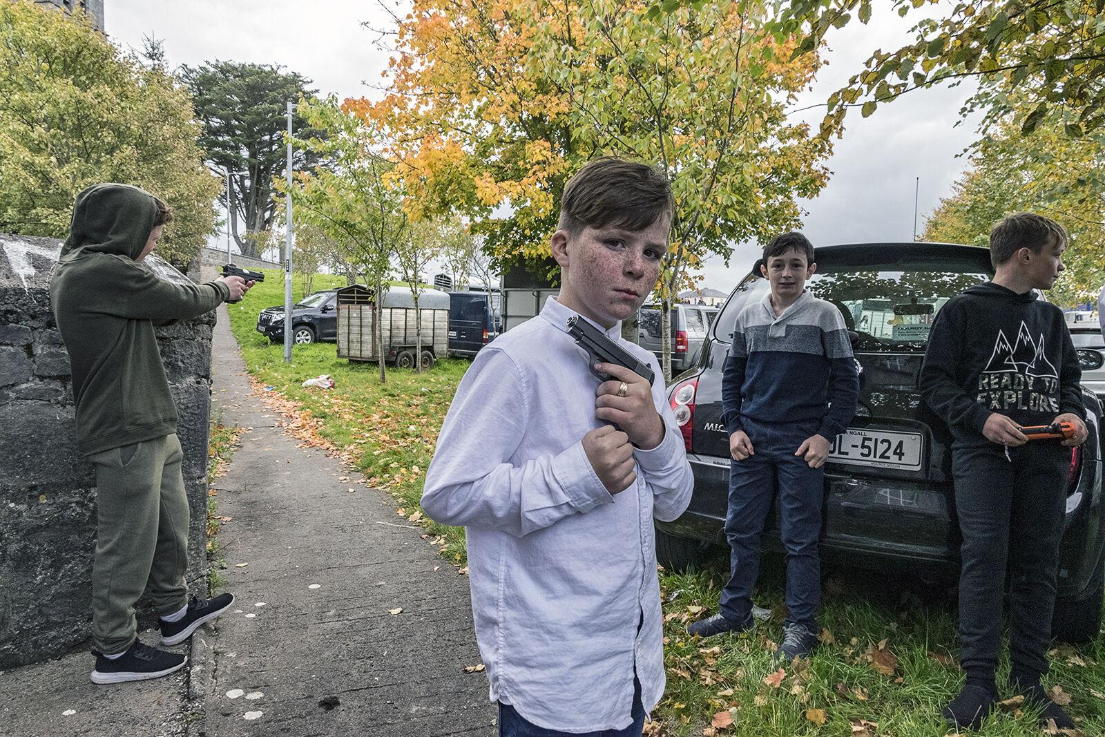 Boys with Pellet Guns, Galway, Ireland 2019