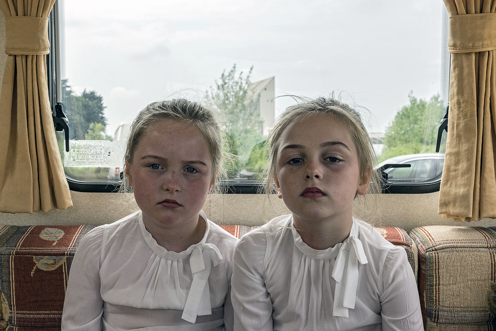 Bridget and Maggie, Fraternal Twins, Limerick, Ireland 2018