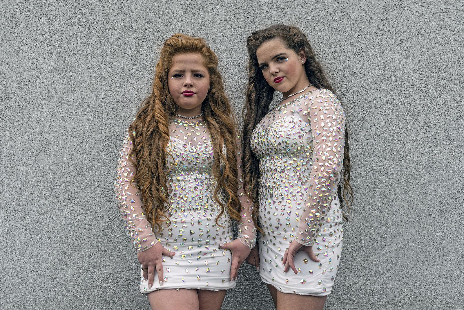 Bridget and Margaret, Fraternal Twins, Wexford, Ireland 2019
