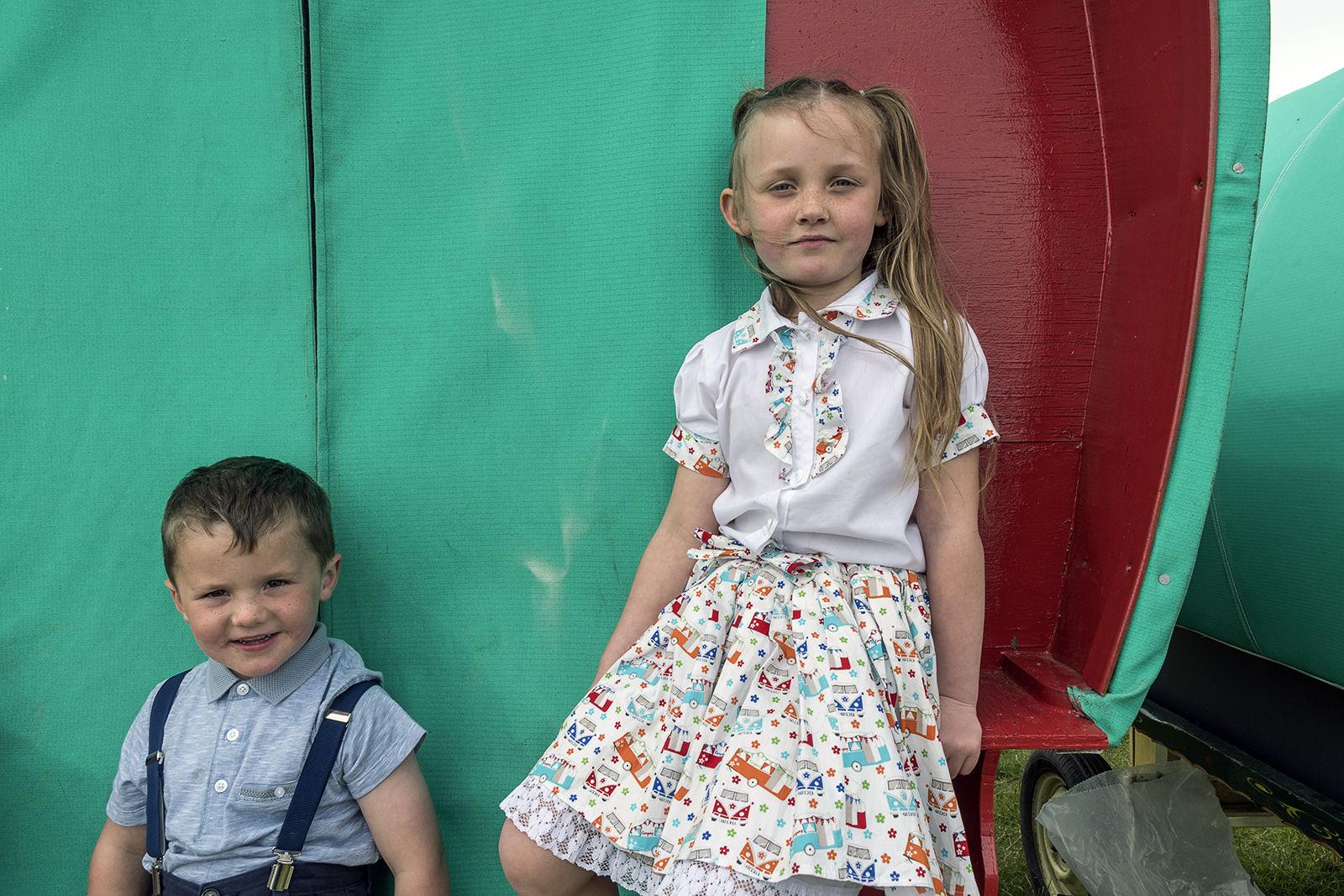 Byers Siblings, Appleby Horse Fair, UK 2018