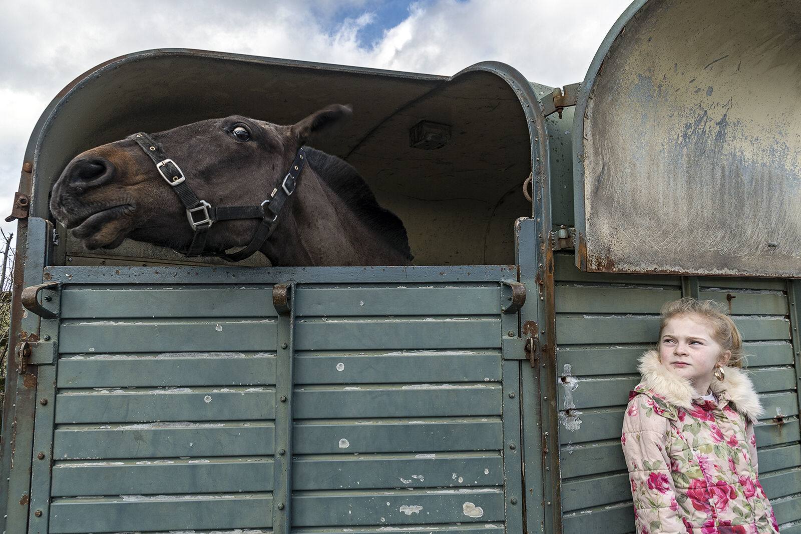 Chantelle and Horse, Tipperary, Ireland 2020