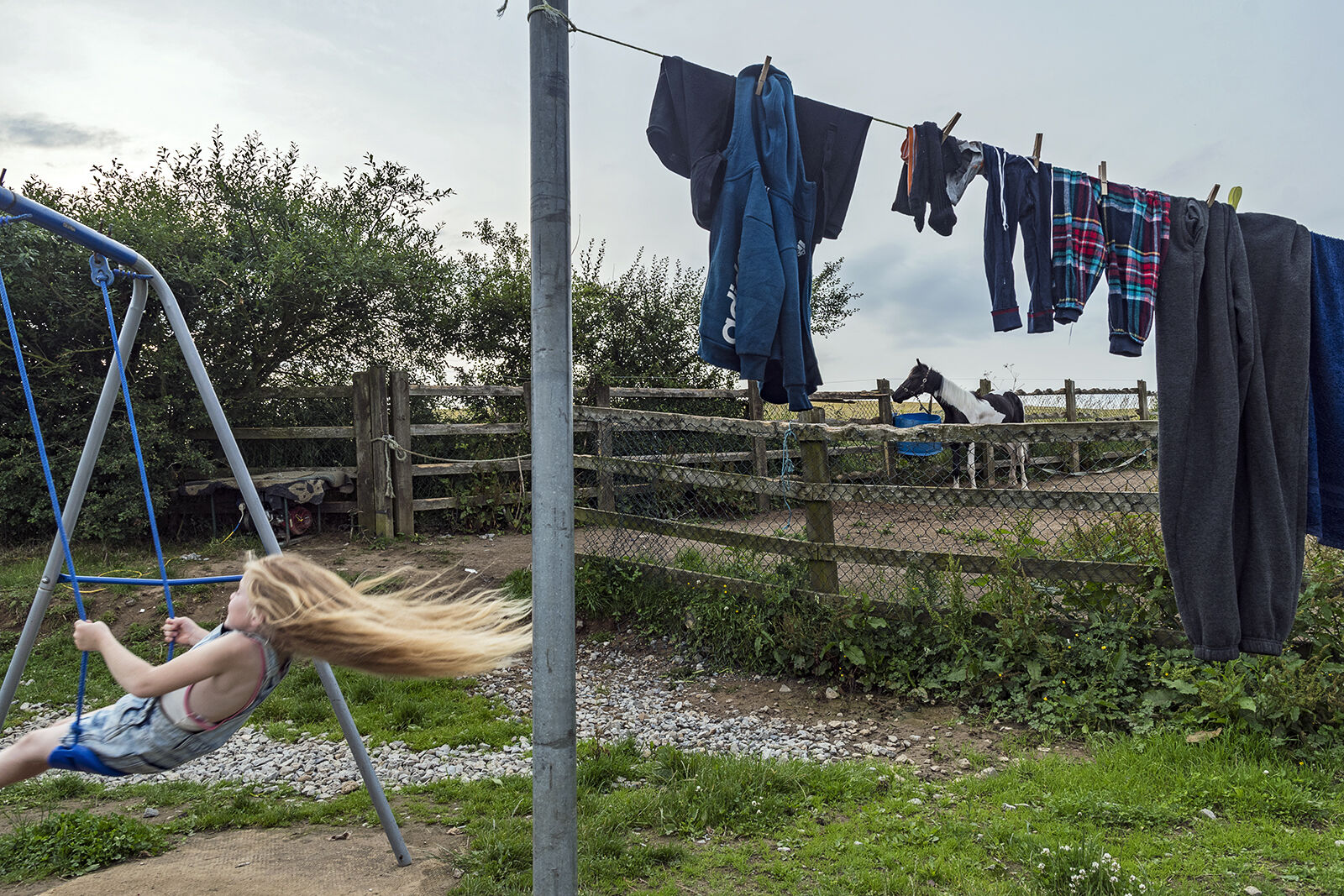 Chantelle on the swing, Tipperary, Ireland 2020