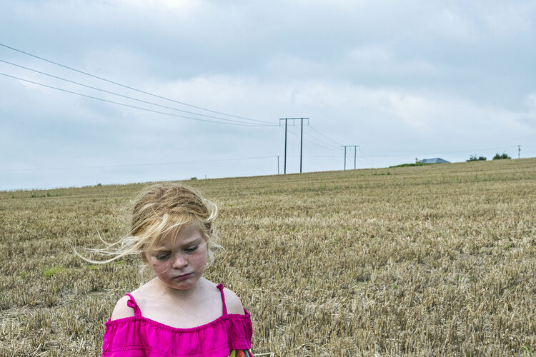 Chantelle in The Wheat Field, Tipperary, Ireland 2020