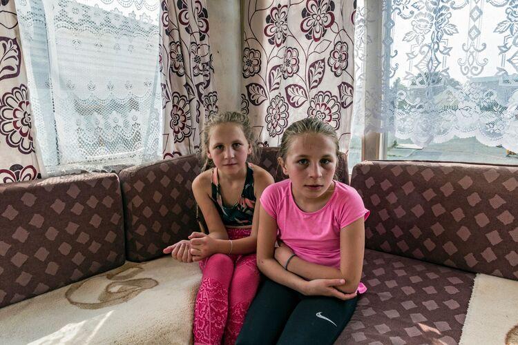 Chloe and Britney, Tipperary, Ireland 2020