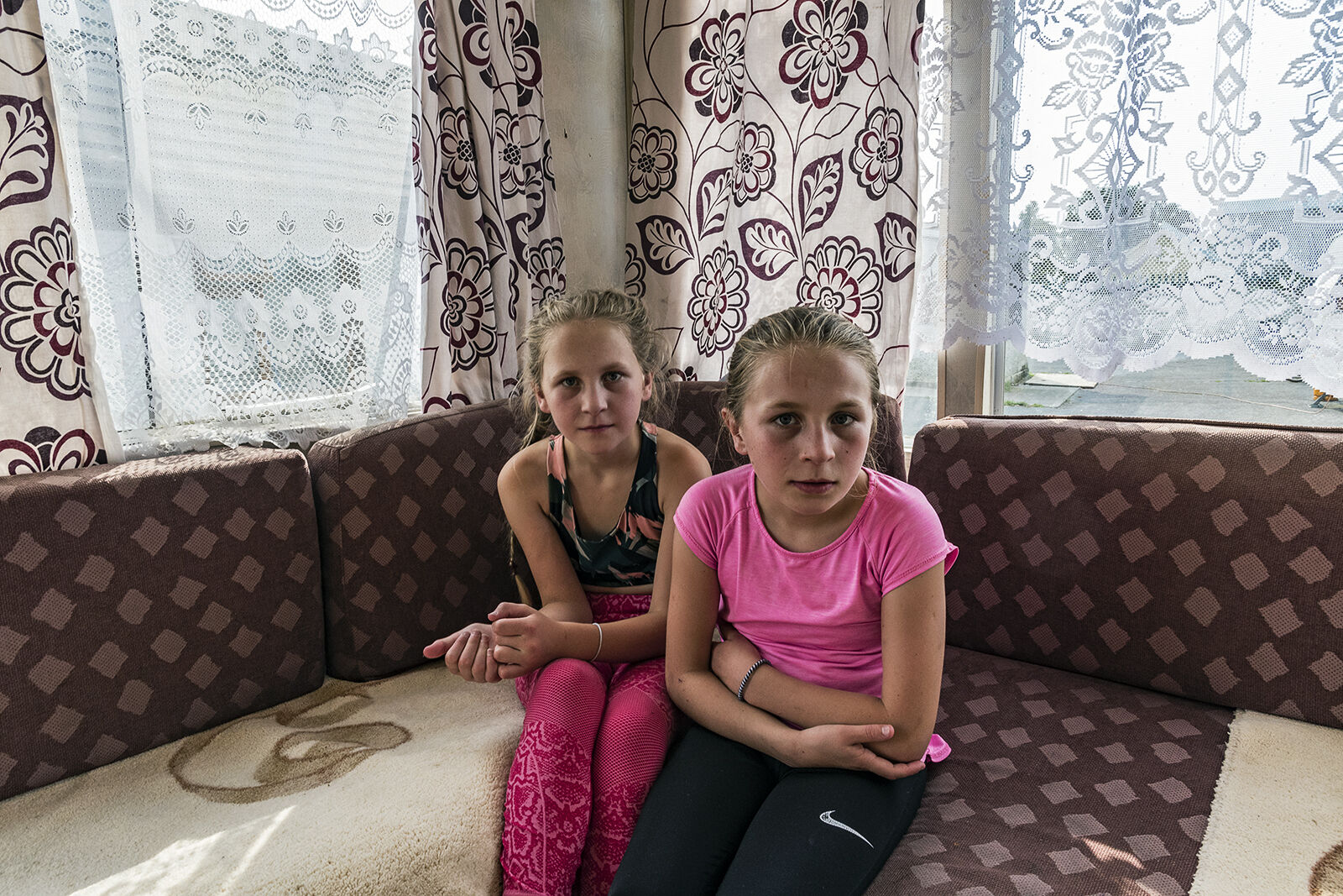 Chloe and Britney, Sisters, Tipperary, Ireland 2020