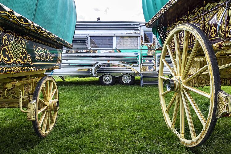Caravans, Appleby, UK 2018