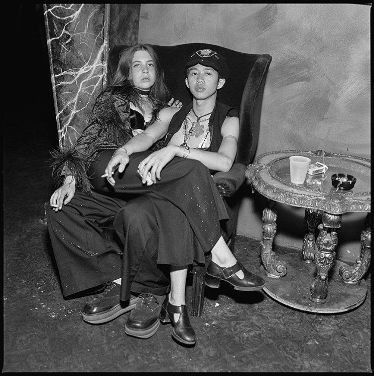 Melissa and Bar, Bill's Bar, Boston 1993
