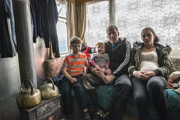 Daniel, Mikey, Johnny and Biddy, Tipperary, Ireland 2019